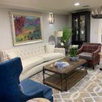 Newly renovated lounge area.