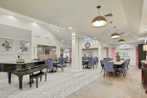 Newly renovated Mariposa Dining Room.